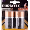 Duracell D 2s Battery - Pack Of 2