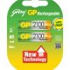 Godrej 2xAA 2100 mAh Card Pack Rechargable Batteries