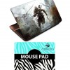 Finearts Gaming Laptop Skin With High Precision Gaming Suface Mouse Pad
