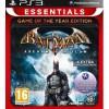 Batman: Arkham Asylum (Game Of The Year Edition) Essentials PS3