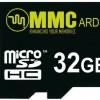MMC 32 GB MicroSDHC Class 10  Memory Card