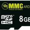 MMC 8 GB MicroSDHC Class 10  Memory Card
