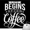 Pinaki Begins After Coffee Mousepad