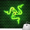 Pinaki Green Snake Logo Mousepad
