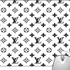 Pinaki La Black And White Design Mousepad