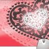 Pinaki Nice Heart Design Mousepad