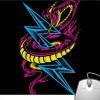 Pinaki Thunder Snake Mousepad