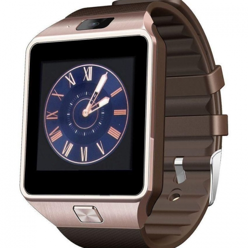 Bingo T30 Gold Bluetooth/sim Smartwatch Mobile Phone Watch For Men/women