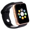 Bingo T50 Gold Bluetooth Smart Notification Smartwatch Memory Slot,sim Slot