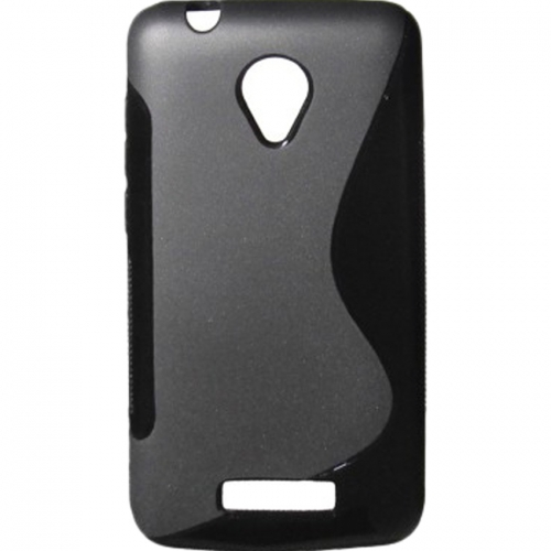 S Case Back Cover For Micromax Canvas Juice 2 Aq5001 - Black