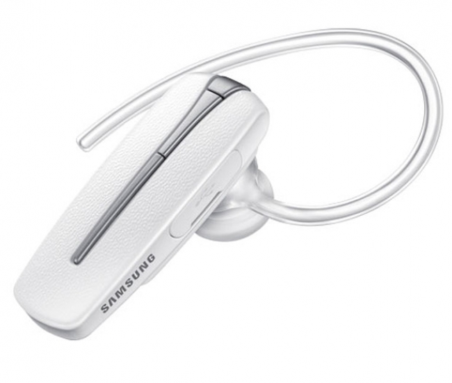 Samsung Bhm1950nwacsta In-the-ear Wireless Bluetooth Headset With Mic - White