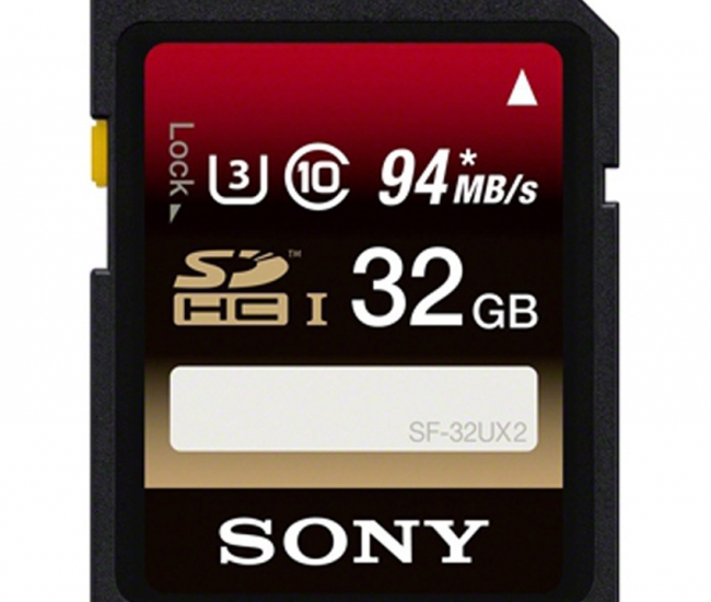 Sony 32 Gb Sdhc Uhs-i Memory Card