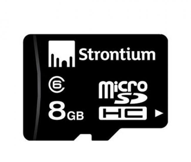 Strontium 8GB Micro SD Card (Class6)