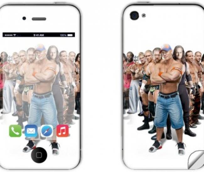 Skintice SKIN5315-fk Apple iPhone 4 Mobile Skin