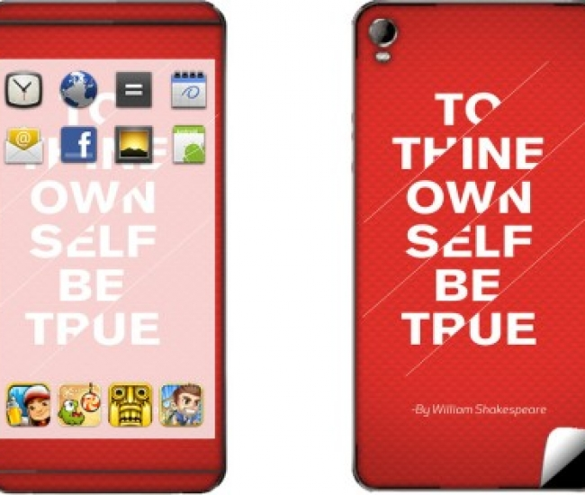 Skintice SKIN6879-fk Micromax Canvas Fire 2 A104 Mobile Skin
