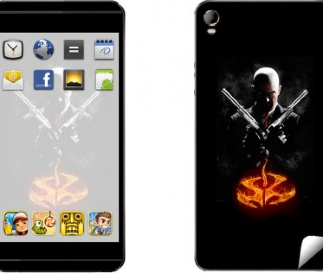 Skintice SKIN6911-fk Micromax Canvas Fire 2 A104 Mobile Skin