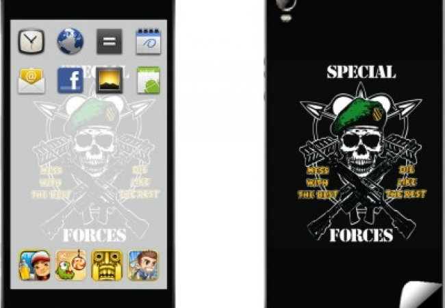 Skintice SKIN6944-fk Micromax Canvas Fire 2 A104 Mobile Skin