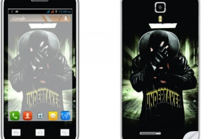 Skintice SKIN9849-fk Micromax Canvas Juice A77 Mobile 			Skin