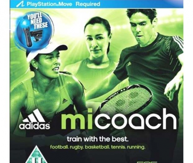 Adidas MiCoach (Move Required) PS3