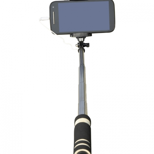 Cezzar Fashion Black Monopod Pocket Selfie Stick