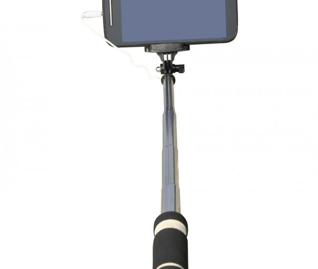Cezzar Fashion Black Monopod Pocket Selfie Stick