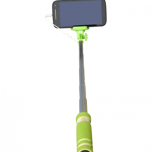 Cezzar Fashion Green Monopod Pocket Selfie Stick
