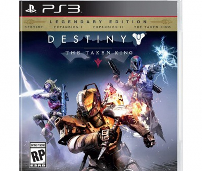 Destiny: The Taken King Legendary Edition For Ps3