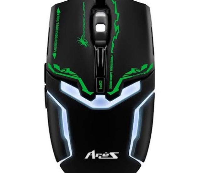 Dragon War Aries Ele-g10 Blue-sensor Gaming Mouse - Black