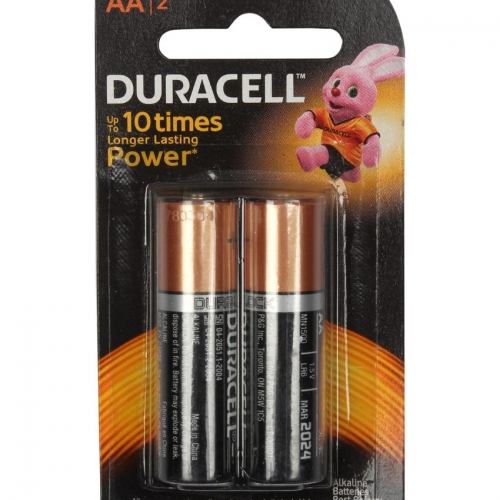 Duracell Aa 2s Battery - Pack Of 2
