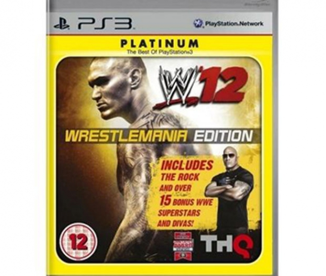 WWE 12 - Wrestlemania Edition PS3