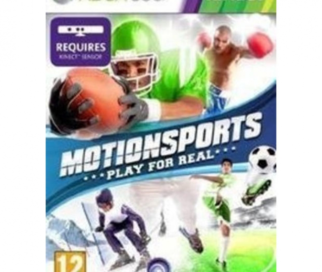 Kinect Motion Sports Xbox 360