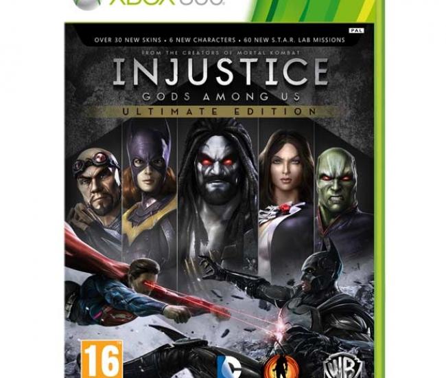 Injustice Gods Amongs Us Ultimate Edition Xbox 360