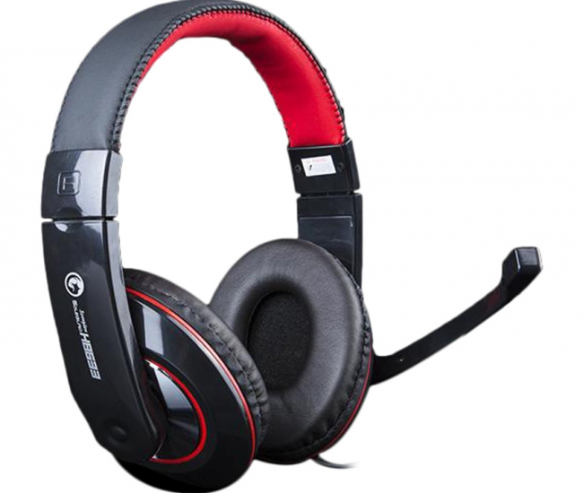 Marvo H8633bk+rd Scorpion Wired Gaming Headset - Black