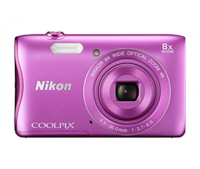 Nikon Coolpix 3700 Digital Camera - Pink