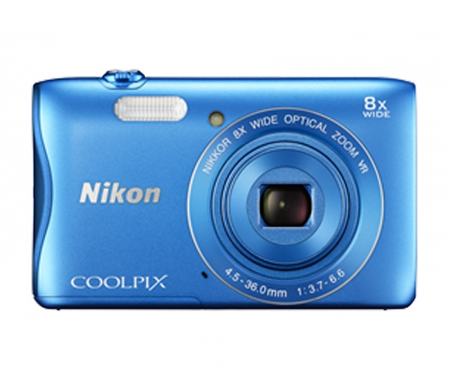Nikon Coolpix 3700 Digital Camera - Blue