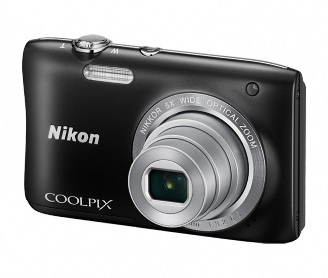 Nikon Coolpix S2900 Digital Camera - Black