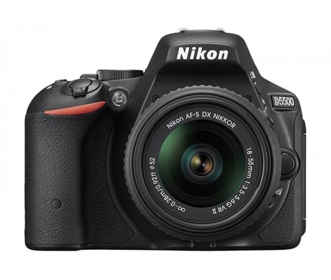 Nikon D5500 With Af-s 18-55 Mm Vrii + Af-s 55-200 Mm Digital-slr - Black