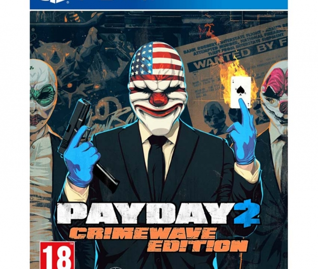 Payday 2 Crimewave Edition - Ps4