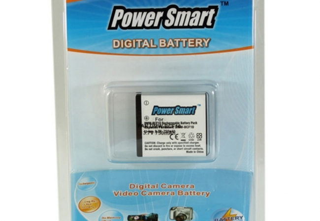 Power Smart 750mah Replacement For Panasonic Dmw-bcf10,dmw-bcf10e - White
