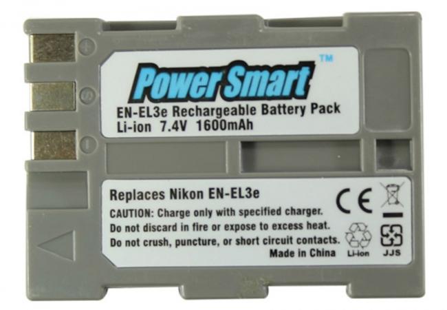 Power Smart Replacement For Nikon En - El3e Batteries