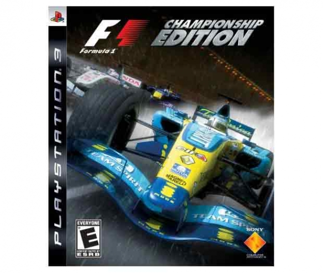 F1: Formula One Championship Edition PS3 (Imported)