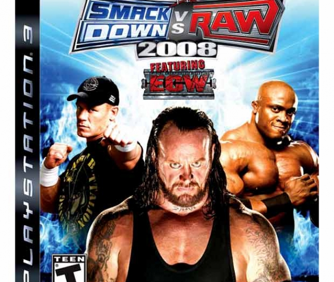 WWE Smackdown Vs Raw 2008 PS3