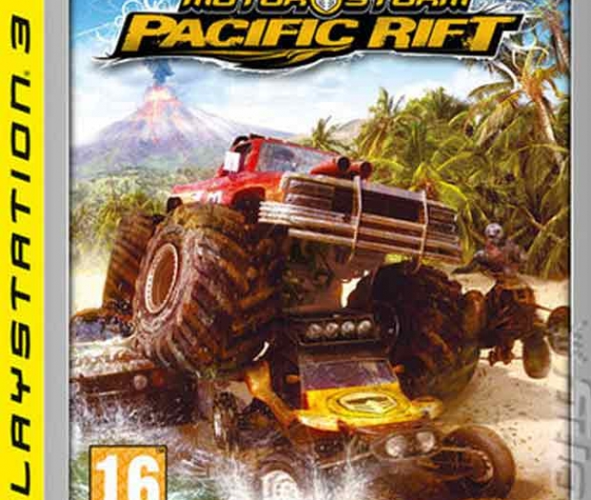 Sony Computers Motor Storm Pacific Rift Playstation 3