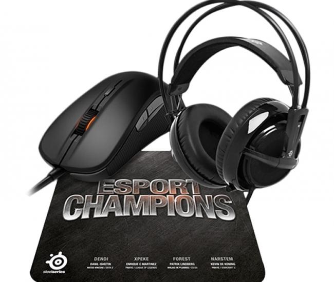 Steelseries E- Sports Champions Bundle - Black