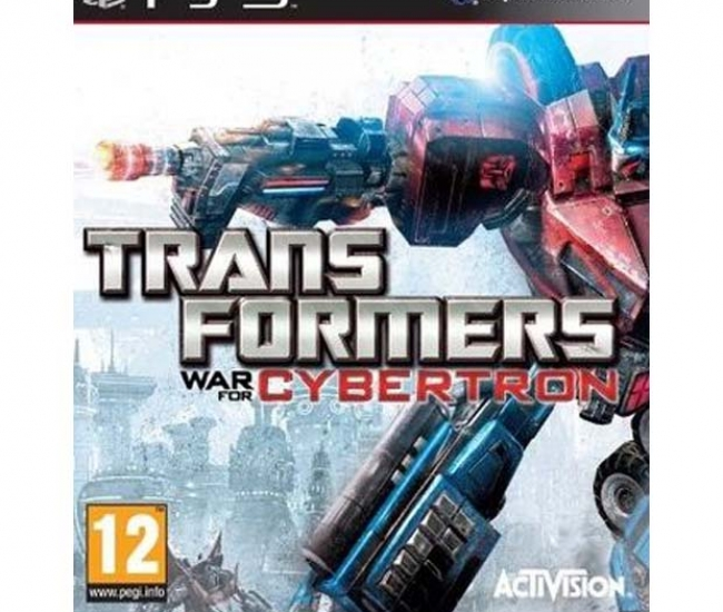 Tranformers War For Cybertron PS3