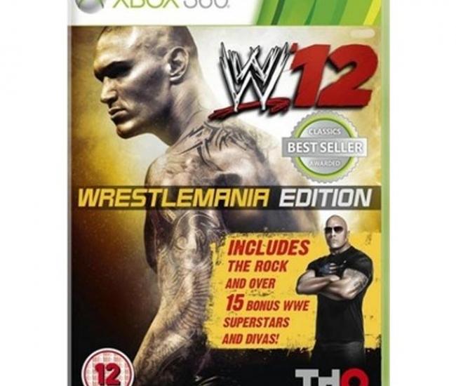WWE 12 Wrestlemania Edition Xbox 360