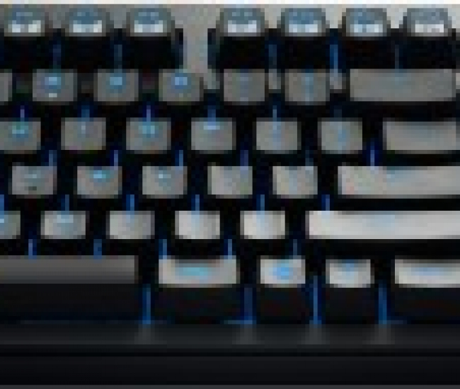 Cooler Master Qucikfire Ultimate Mechanical Keyboard with Blue Cherry Keys Wired USB Gaming Keyboard