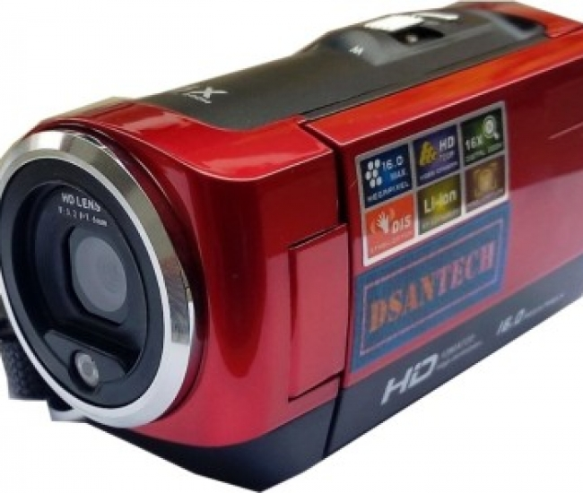 DSANTECH X1 RED8 BODY ONLY Camcorder Camera