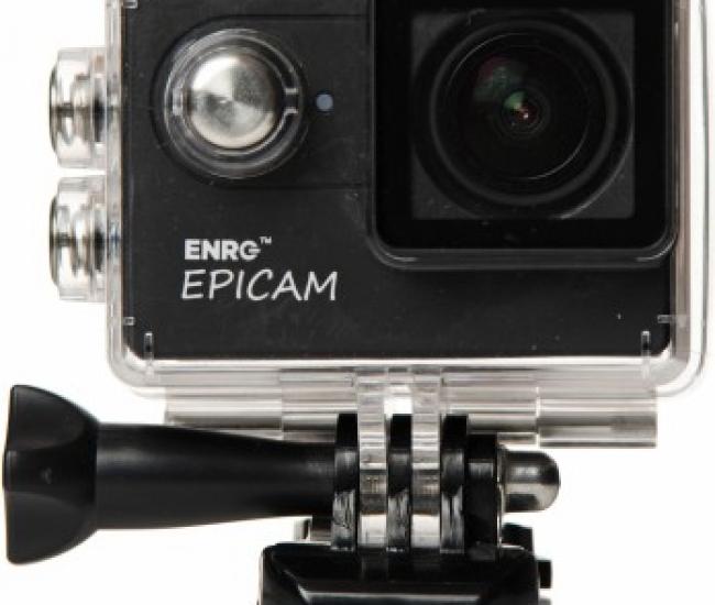 ENRG Epicam EPICAM(BLACK) Camera with battery & multiple mountings Sports & Action Camera