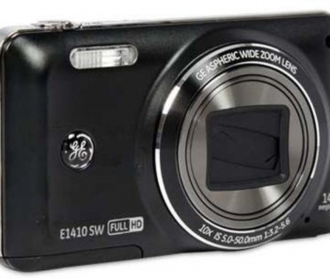 GE Digital E1410SW 10X Optical Zoom, 3-Inch LCD Point & Shoot Camera
